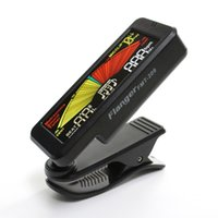 Wholesale Clip on Tuner and Metronome for Guitar Bass All String Wind and Brass Instruments Flanger FMT