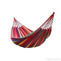 Wholesale 59 inch Cotton Double Wide Hammock Person lbs Portable Hammock Ideal For Camping Backpacking Kayaking Travel