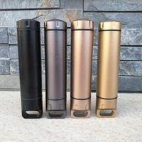 Wholesale Aluminum Alloy Waterproof Tank Seal Bottle Case Container Holder EDC Box for Madicine Outdoor Use CNC Cutting Seal Bottle MM A445