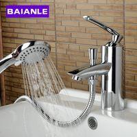 cuarto de bao y accesorios de cocina grifos de lavabo movible grifo de lavabo flexible mezclador