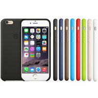 Wholesale Original PU Leather iPhone Plus case Official Style Soft Skin Hard Back Case Cover For iPhone Plus inch