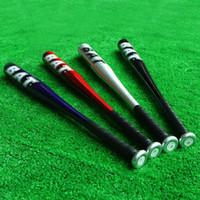 Wholesale 25 Inch Aluminum Alloy Lightweight Baseball Bat Softball Bat Silver Red Blue Black