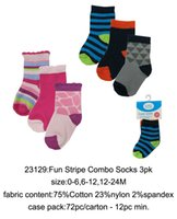 baby no show socks - US Brand Luvable Friends Yoga Sprout Leg Warmers Baby Colorful No Show Striped Socks pk Legging Tights New Born Infant Toddler