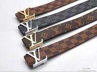 Wholesale 2016 Hot l Brand v belt with box designer luxury ff belt men high quality genuine leather GG belt for women calssic buckle men fending belts