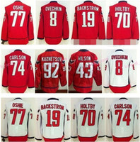 backstrom jersey - Washington TJ Oshie Hockey Jerseys Alex Ovechkin Braden Holtby Nicklas Backstrom Evgeny Kuznetsov Brooks Orpik