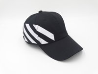 Wholesale Baseball cap off white stripe snapback hats for men women brand hip hop caps golf fashion motorcycle bone masculino casquette