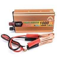 Digital automatic power inverter - 1000W Power Inverter for Car DC V To V AC Automatic Converter