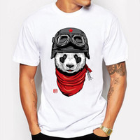 Camping & Hiking adventurer camps - Camping Hiking T Shirts Summer men t shirts cute panda Happy Adventurer Print Casual Slim Fit Short Sleeve funny tee shirt homme