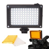 Wholesale Mini LED Video Light Photo Lighting on Camera Hotshoe Dimmable LED Lamp for Canon Nikon Sony Camcorder DV DSLR Youtube
