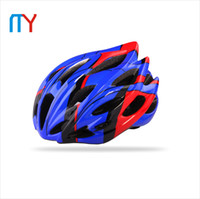 Wholesale Professional Ultralight Integrally molded Road MTB Cycling Bicycle Helmet With Capacete Ciclismo EPS PC Colors Bike Helmet