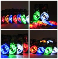 70pcs (35 paires) LED lacets Lacets Chaussures Flash Up Up Glow Stick Strap Chaussures Disco Party Skating Sports Glow Stick