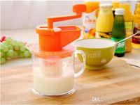 Wholesale Manual fruit exprimidor Soybean milk machine creative kitchen gadgets DIY Juice maker Simple Juice extractor machine