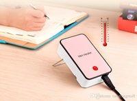 Wholesale Fashion Mini Heater Portable Mini fan heater hand Electric Air Warmer Heating Winter Keep Warm Desk Fan for Office Home