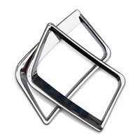 accent car accessories - Car Accessories central air conditioning outlet cover ABS chrome plate For Hyundai Solaris accent sedan hatchback