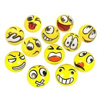 Wholesale Emoji Faces Squeeze Stress Ball Hand Wrist Finger Exercise Stress Relief Therapy Assorted Styles CM