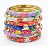 beijing leather bracelets - Beijing fashion jewelry cloisonne bracelet peony female models abroad gifts foreigners small gifts