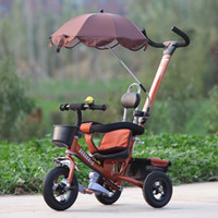 Wholesale Top star baby stroller child tricycle bicycle bicycle stroller shipping champion star new material trading Integrity management refu