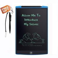 Precio de Los niños juegan-A estrenar tablero de la escritura del LCD 8,5 pulgadas de la pizarra de la pizarra electrónica de los cabritos para los niños de la escuela que dibujan el cursivo Handwriting