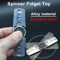 Wholesale Hand Spinner Fidget Toys alloy Finger Toys Min Spins Fidget Cube Decompression toy Adults Relieves Stress And Anxiety Attention Toy