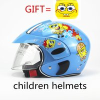 Wholesale Cute Children s Motocross Motorcycle Helmet Winter Warm Comfortable Motos Safety Helmets For Kids suit for years old