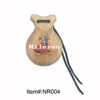 Wholesale Spanish flamingo dance solid wood castanets