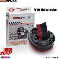 Wholesale EPMAN Front Bumper Spoiler Chin Lip Splitter Valence wing Body Kit Fit For Honda Civic Black Red Blue EP JT01 FS