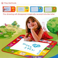 Wholesale Children Doodle Drawing Toys with Doodle Magic Pens drawing board drawing mat for Children Kids Developmental Intelligence Crafts