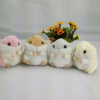 big hamster - 1PC Cm cute Little Plush Hamster cartoon Plush Dolls Phone Bag Pendant doll Girlfriend chrismas gift
