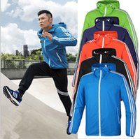 Wholesale The during the spring and autumn young men hooded windbreaker thin part of the bigger sizes wind rainproof outdoor sports tourism skii