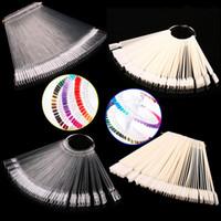 art display equipment - bag Nail Color Sample Nail Art Tips Display Practice Fan Nail Polish Nail Art Tools Practice Equipment cx600516
