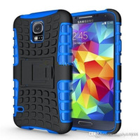 Wholesale new Heavy Duty Strong Silicone Cover shockproof cell phone case For Samsung Galaxy S4 S5 Iphone S C Tough Hard Case PC TPU