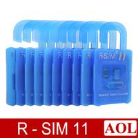 Wholesale R SIM RSIM11 r sim11 rsim unlock card for iPhone plus iOS ios7 x CDMA GSM WCDMA SB SPRINT G G