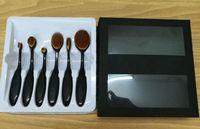 best face foundation brand - Best selling brand Anna M6 make up brush sets round face powder brush computer set PC set set
