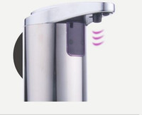 Wholesale Ship From USA Sensor Soap Dispenser Stainless Steel Automatic Hands Free Wash Machine Portable Motion Activated w Stand