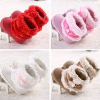 Wholesale Winter Baby Walking Shoes Infant First Walking Boots Children s Boot Baby Handmade Shoes colors