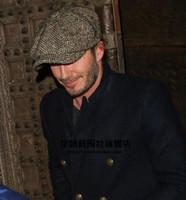 autumn international - Fashion Octagonal Cap Newsboy Beret Hat Autumn And Winter Hats For Men International Superstar Jason Statham Male Models C00010