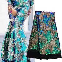 Cheap Fabric wholesale African French Net Lace Best Lace Multi-Colored Sewing Beauty Women Dress