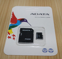 Wholesale hot128GB GB Adata Class Micro SD Card G SD memory cards MicroSD Card TF Card with Free SD Adapter