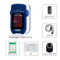 Wholesale Pulse Oximeter Finger Tip Pulse Blood Oxygen SpO2 Monitor FDA Approved US seller