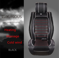 Wholesale Interior Accessories XA041 Warm Winter Seat Covers V Heating Massage Air conditioned Car Seat Cushion Four Seasons Car Seat Cover