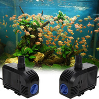 Wholesale ASLTUltra quiet Mini Water Pump V W Brushless Water Oil Pump Waterproof Submersible Fountain Aquarium Circulating