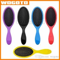Wholesale 2016 NEW WET Hair Brush Hair Brush Massage Comb Combs for wet hair Shower Brush DHL ship