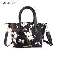 Wholesale Floral Printing Bag Women Handbags PU Leather Messenger Bags Women Handbag Tote Bags Female Crossbody Bag Satchel Bolsa Feminina
