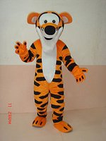 Wholesale Hot selling Tigger Adult Mascot Costume Fancy dress For Festivals party