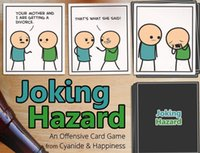 Big Kids adult poker cards - Joking Hazard Party Game Funny Games For Adults With Retail Box Comic Strips Card Games Hot Sell