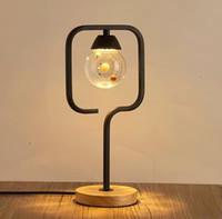 Wholesale NEW ARRIVAL morden fanshion table led lamp bedroom studyroom iron resin ball w led lights