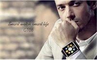 Meilleur smartwatch pour iphone France-20pcs / Best GT-08 Montre Smartwatch sans fil Smartwatch Bluetooth pour Android IOS Iphone 6 Plus 6 Samsung Galaxy S6 Note 4 240 * 240 pixels