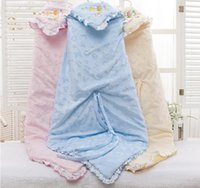 Wholesale Blue pink yellow Newborn Sleepsack Baby Winter Sleeping Bag warm Velvet Sleepsacks yrs
