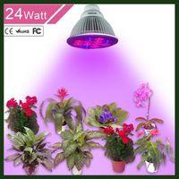 best led par lights - LED Grow Light W Highest Efficient Hydroponic LED Plant Grow Lights E27 Growing Lamp for Garden Greenhouse in Best Bands