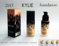 Wholesale Kylie Jenner Liquid Foundation Makeup overlaid with Birthday Limited Edition Primer Powder g BB Cream Naked makeup please Down see